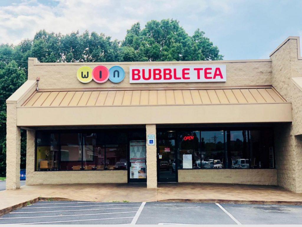 win bubble tea shop